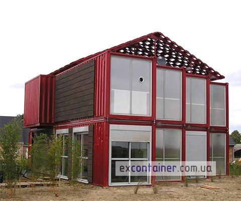 The-Lille-Red-Shipping-Container-House-Lille-France-1
